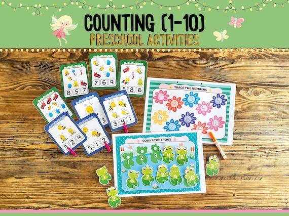 Printable Toddler Busy Book Spring Toddler Binder Pages