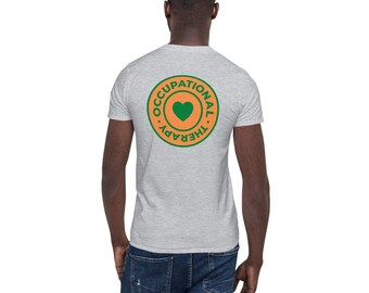 OT Captures the Heart Orange and Green Logo Short-Sleeve Unisex T-Shirt