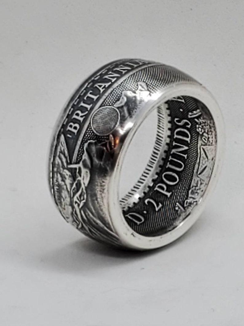 2021 Britannia coin ring