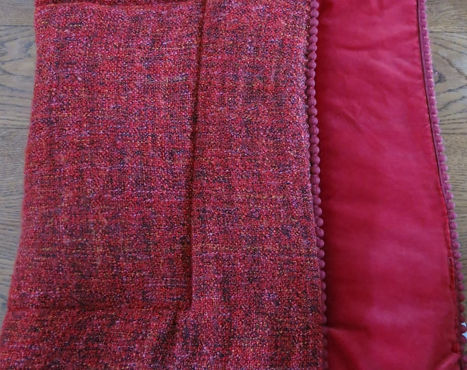 Medium padded blanket or sofa topper for home, travel or your lap! click to see different options