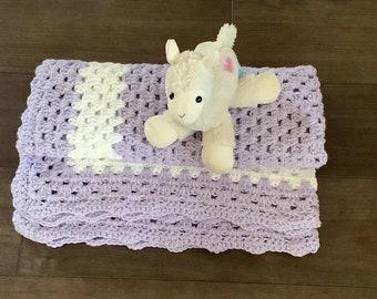 Crochet Baby BlanketLarge BlanketBaby Boy BlanketBaby Girl BlanketShell BlanketStroller BlanketCar Seat BlanketCrib Blanket