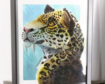 Original Art - Smilodon