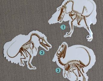Giant stickers - Skeleton edition