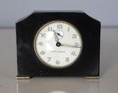Vintage Seth Thomas Art Deco Bakelite Clock 1960s