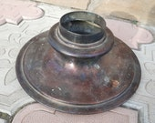 Samovar Russian Samovar Tea Lid Coffee Lid Brass Large Old Vintage Teapot Samovar Antique Metal Part