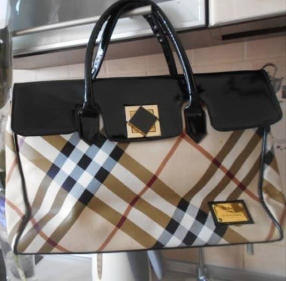 Burberry, Vintage Bag, Gift for her