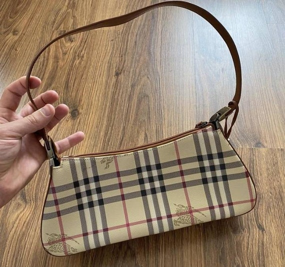 Burberry, vintage bag, Free shipping,