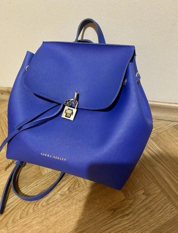 Laura Ashley Backpack, Vintage, gift for her, Vale