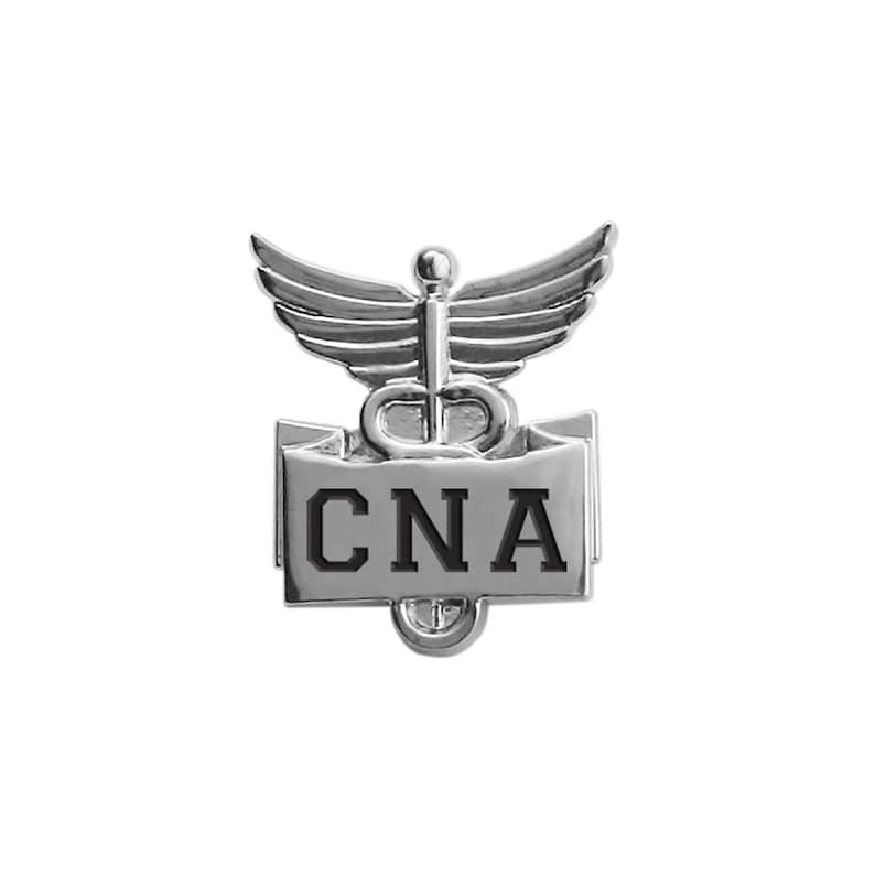 CNA Lapel Pin-Silver