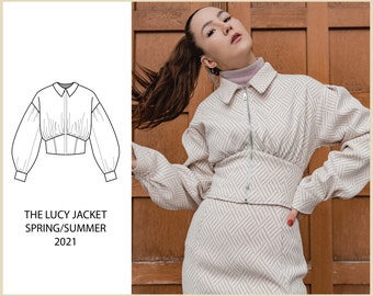 PATTERN - The LUCY Jacket - THISISKACHI