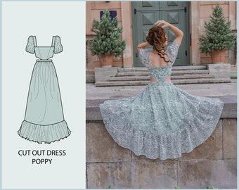PATTERN - Cut Out Dress POPPY - THISISKACHI