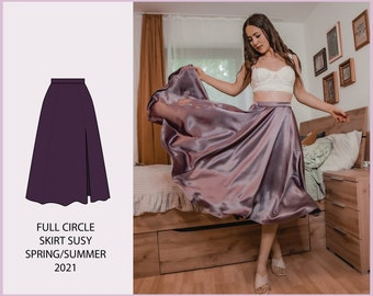 PATTERN - Full Circle Skirt SUSY - THISISKACHI