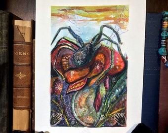Spider Finder - Original Art