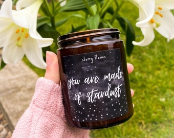 You Are Made Of Stardust - Vegan Soy Candle