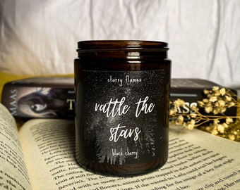 Rattle The Stars - Throne of Glass inspired Bookish Candle