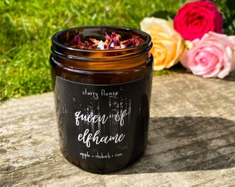 Queen Of Elfhame - The Cruel Prince Inspired Bookish Candle
