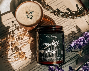 Annabeth Chase - Percy Jackson Inspired Bookish Soy Candle