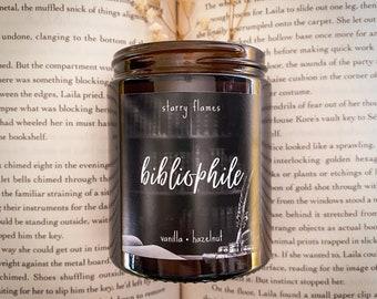 Bibliophile - Vegan Soy Bookish Candle