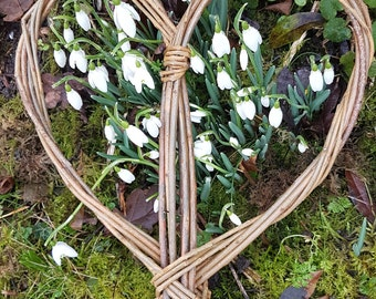 Willow heart -send love with this eco friendly gift