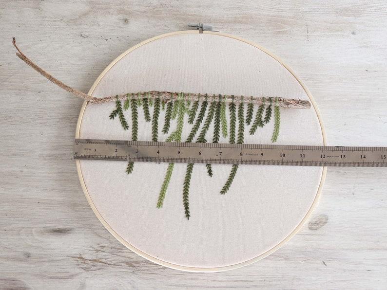 Big Embroidery Nature Artwork
