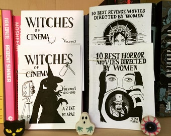 Feminist's Bundle : Revenge Movies Directed by Women, Witches of Cinema vol 1 and 2 + 10 Best Horror Movies Directed by Women