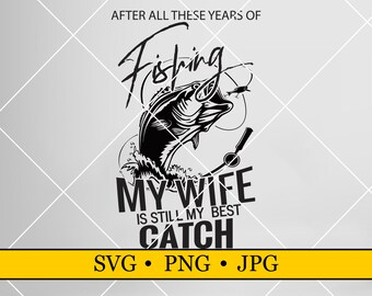 Download Fishing Wife Svg Etsy