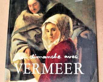 Un dimanche avec Vermeer - Alain Madeleine-Perdrillat - Livre d'art pour enfants