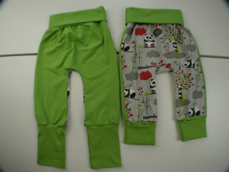 Evolutionary jersey trousers