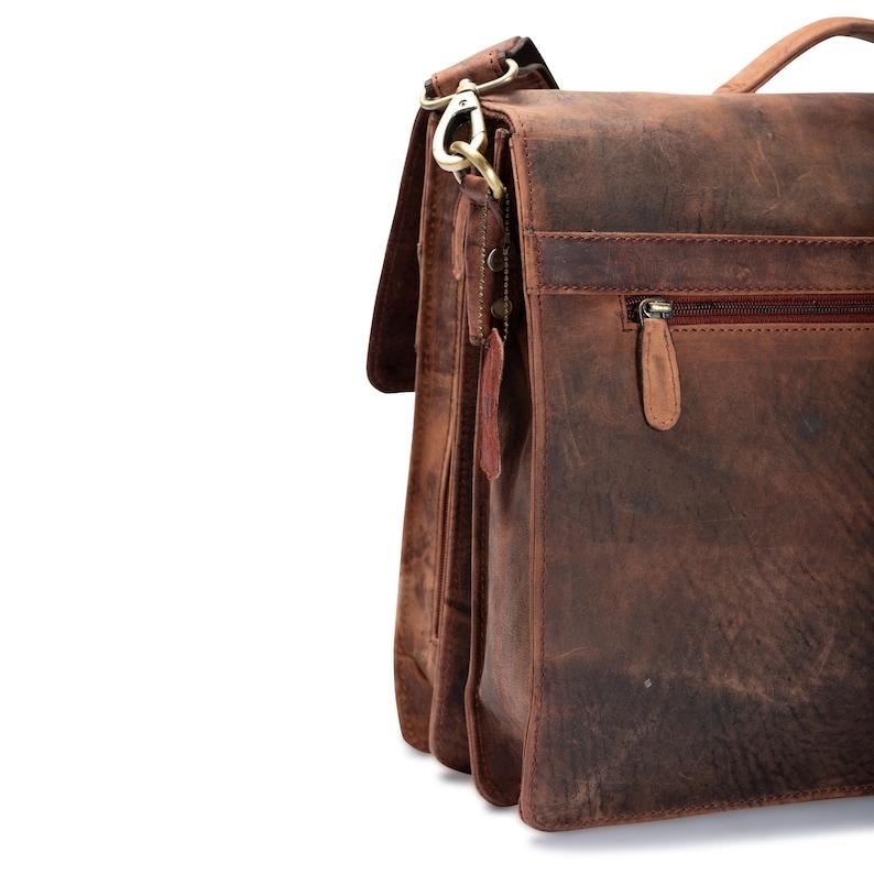 Leather Laptop Bag Men Briefcase Satchel Messenger Bag Handmade Leather Personalised Men Gift Crossbody Bag Leather Messenger Bag