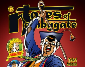 Tales Of Nambygate - graphic novel