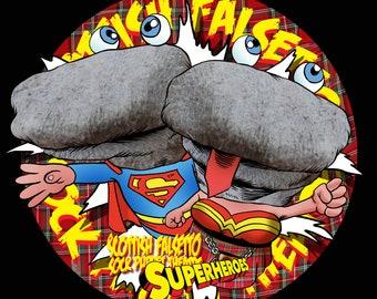 Socks Superheroes t-shirt (Large)