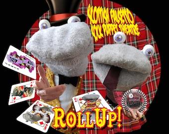 Socks' ROLL UP! t shirt (Medium)