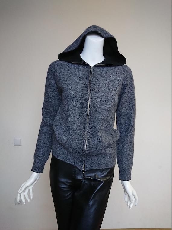 Cruciani Men Sweater Hoodie Jumper Half-over Hoode