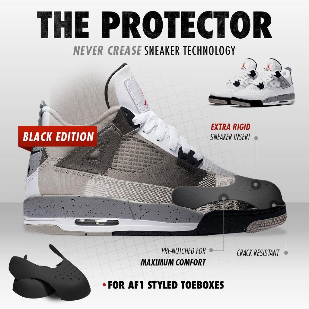 Sneaker Crease Protector Preventor for Nike Jordan Adidas Air Force 1 Toebox Shield