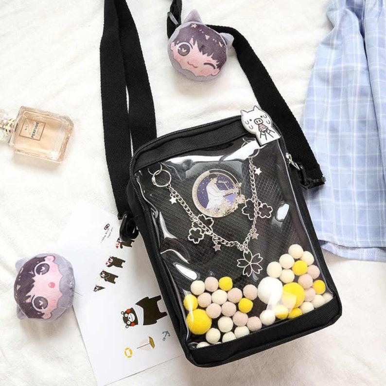 Cute Ita Bag Crossbody Pin Display Bag