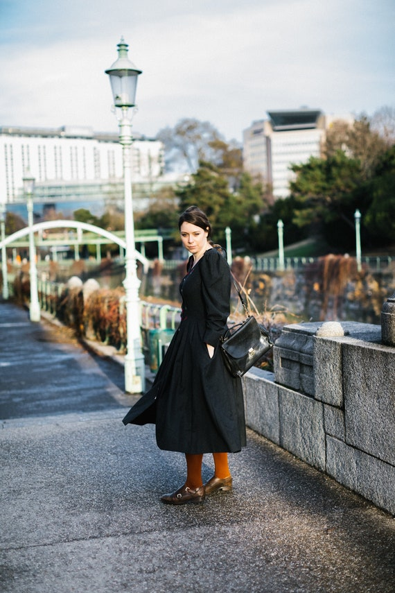Trachten Dress / Apron style Dirndl Dress / Salzbu