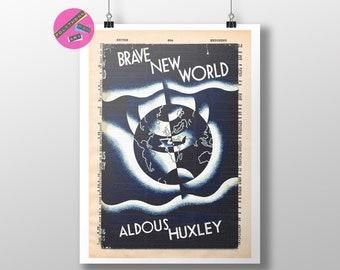 Limited edition signed art print Aldous Huxley ballpoint pen portrait