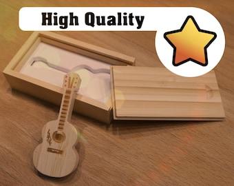 USB Stick 64GB - Guitar + Box