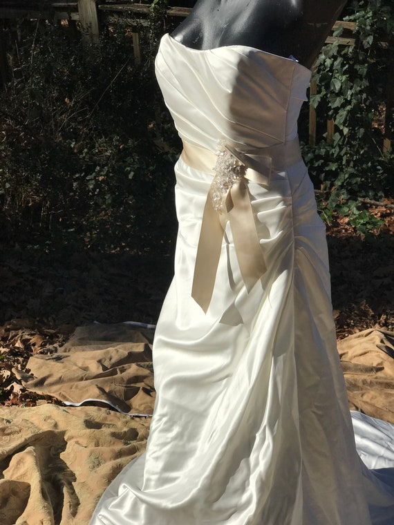 Ivory/Champagne Wedding Gown
