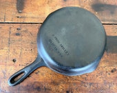 Wagner 6 Cast Iron Skillet (Unmarked)