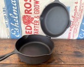Wagner Ware 8 Cast Iron Hinged Double Skillet