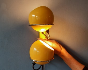 Vintage GEPO Eyeball Wall Lamp   Space Age Lamp