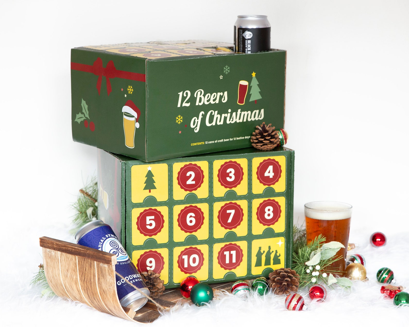 12 Beers of Christmas Holiday Advent Calendar