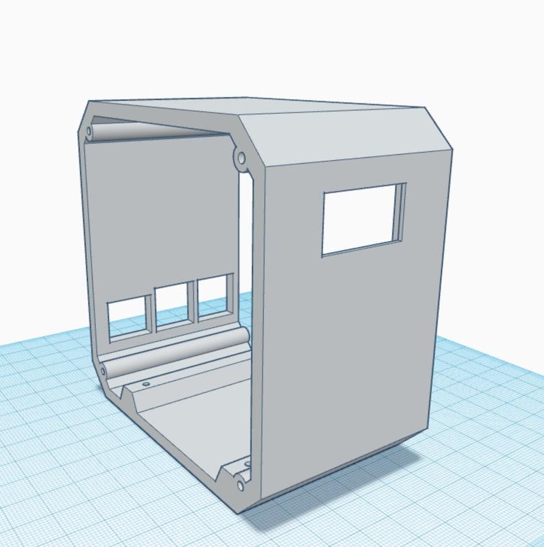 Raspberry Pi 4B Desktop Computer Case  Additional 3D Print image 0
