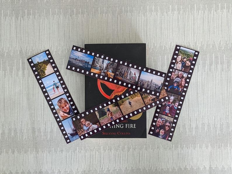 2. Movie Strips, Personalised Fridge Magnet Set