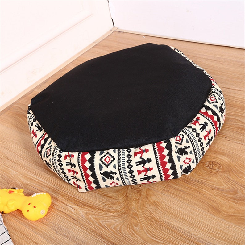 Canvas Super Soft Dog Bed washable Pet mat Sleeping Bag Lounger Cat House Sofa Basket for SmallMedium Dog