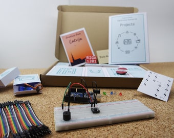 """Arduino Escape Kit: """"Package from abroad""""   Physical Escape Game with actual hardware"""