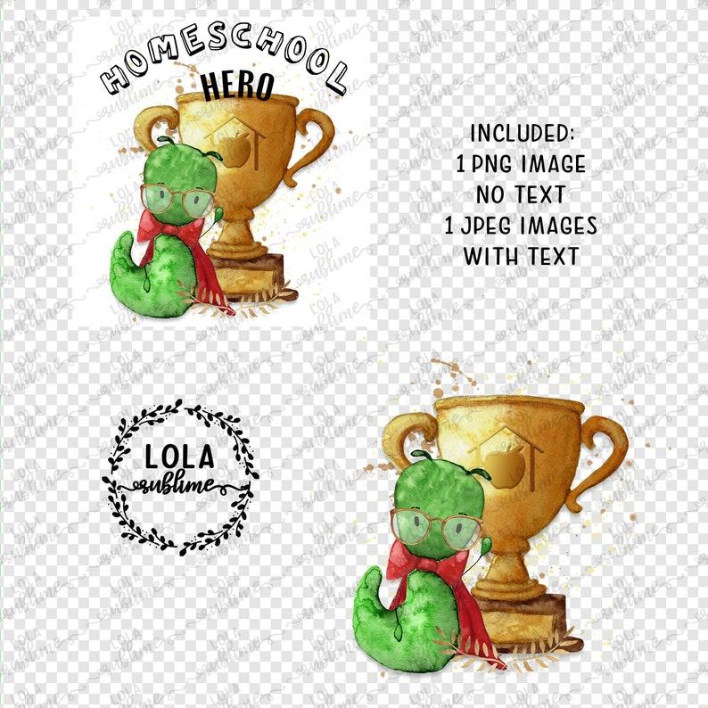 Lockdown Teacher PNG Design Lola Graphics Design Digital Transfer Design Cute Watercolor Home School Hero Design Commercial Use