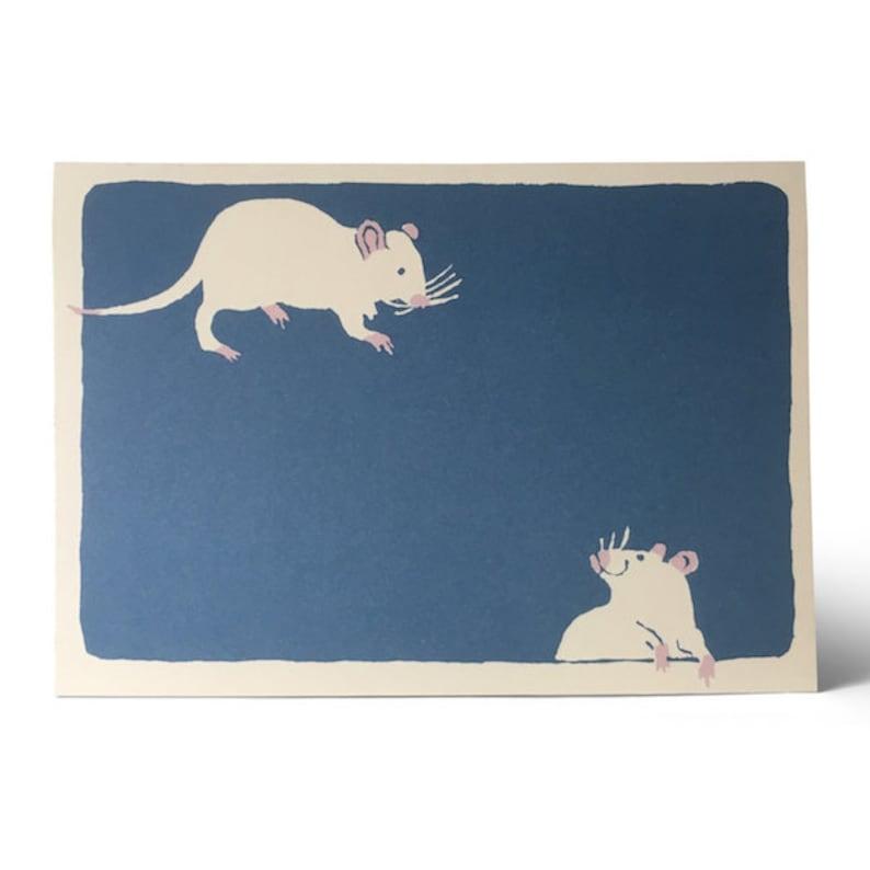 Card Two Bad Mice