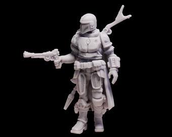 Mandalorian a Star Wars Figurine 75mm